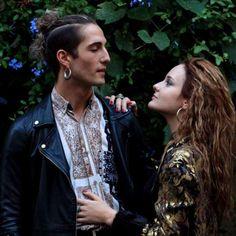 I look di Damiano e dei Maneskin - Damiano e Victoria