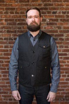 Tellason / Manifattura Ceccarelli Vest - Black