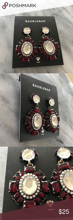 Baublebar Earrings New never women ruby red earrings. Baublebar Jewelry Earrings