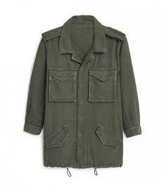 Topshop Multi-Pocket Tencel Jacket