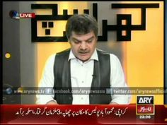 Mubashir Lucqman Showing Amir Khan Revealed Secrets of MQM Members in Hi...