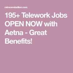telework jobs