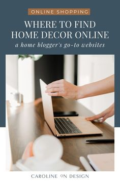 Are you feeling overwhelmed because you've just built a house and now it's time to decorate your new home? Or possibly you simply want to refresh your current home after the holidays? Find all of my favorite home decor shopping websites here!