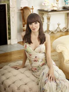 Annabelle Neilson: The cool girl. Aristocratic family, but feels ambivalent about it... Read more at: http://www.allaboutthetea.com/2014/06/04/ladies-of-london-recap-my-fair-ladies-of-london-episode-1/