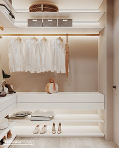 Wardrobe Interior Design, Walk In Closet Design, Wardrobe Design Bedroom, Master Bedroom Closet, Closet Designs, Small Dressing Rooms, Dressing Room Design, Wardrobe Room, Small Closets
