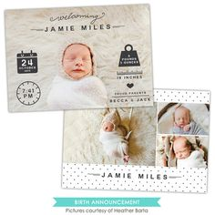 #25 Birth Announcement | Welcoming Jamie