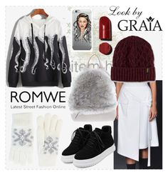 Street fashion by grahovskaya on Polyvore featuring мода, WithChic, Brunello Cucinelli, Fits and Dr. Martens