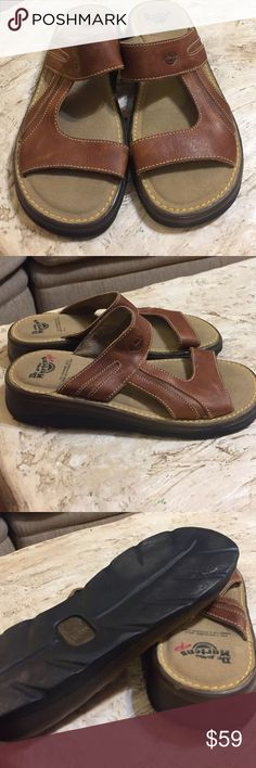 ⚜️NWOT Dr. Martens Leather Sandals.   Size 9 ⚜️NWOT Dr. Martens Leather Sandals.   Unisex. UK size 6, men's US size 7. women's size 39. Dr. Martens #5A56. Made in Thailand. air cushioned sole. Dr. Martens Shoes Sandals