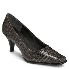 Women's Aerosoles Envy - Dark Grey Croco