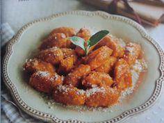 Bučni njoki z amaretti