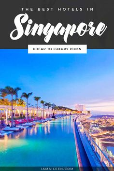 Visting for at least a night, if not more? Here are the top best hotels in Singapore that will fit any kind of budget and style! // #Hostel #BudgetTravel #LuxuryTravel Ways To Travel, Travel Advice, Travel Tips, Travel Abroad, Asia Travel, Travel Around The World, Around The Worlds, Visit Singapore, Cheap Hotels