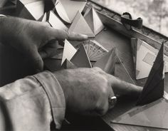 Nancy Newhall, Buckminster Fuller, 1948/1990; gelatin silver print; © Estate of Nancy Newhall; photo: courtesy SFMOMA.