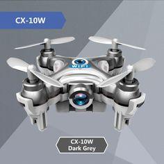 Drone with Camera Cheerson CX-10W CX 10W Mini 6-Axis Gyro RC Quadcopter Headless Mode Remote Control Helicopter RTF