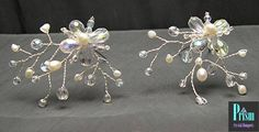 Crystal and FW Pearl Hairpin Set