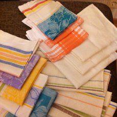 полотенца льняные для кухни