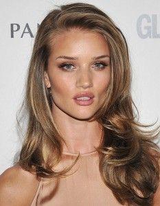 I love her light brown/golden hair color