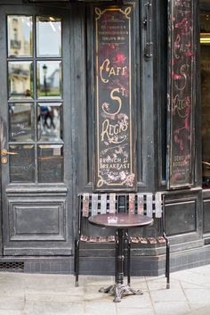 Paris Cafe Fine Art Photography Print $30.00
