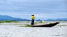 Fisherman at Inle Lake #Myanmar, early morning light