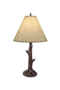 Cool rustic lamp