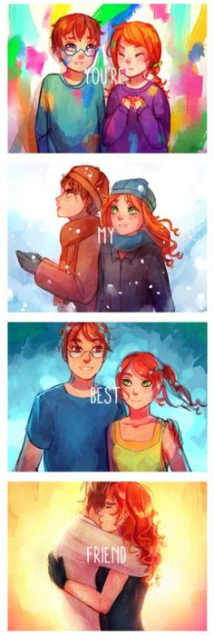 I really LOVE Clary and Simons relationship. He's like the brother she never had the chance to have. :)