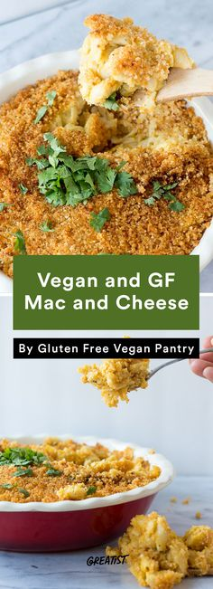 7 Vegan Mac and Cheese recipes for your dairy-free friends, this one is gluten-free, too!