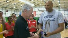 BBC Sport - Sports Personality: Basketball duo win BBC Unsung Hero award