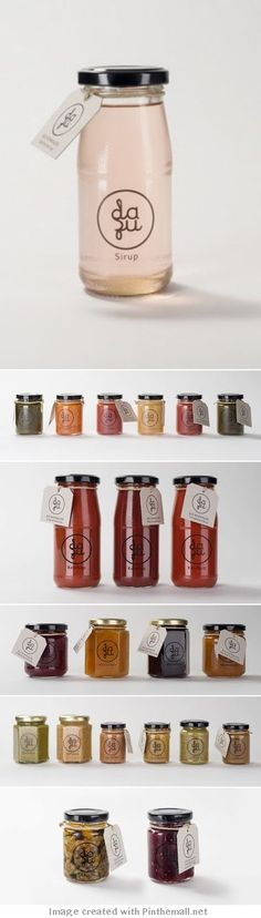 The design of this is really modern and reflects todays designing. The tags on the jars are really appealing and quite simple but they are also really effective with colours and simplicity.