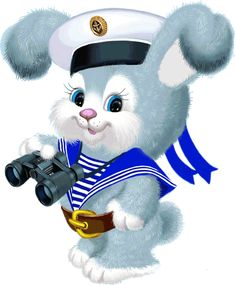 Little sailor boy Love Smiley, Baby Animals, Cute Animals, Bunny Images, Cute Cartoon Images, Image Digital, Cute Clipart, Cute Dogs And Puppies, Cartoon Wallpaper