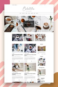 The minimal style and color palette of this blog design means that the template will provide a structure that will work excellently for blogs. Moreover, the easy readability will make it a joy for your readers to discover your content. Calantha is built using the latest Bootstrap technology, and it is fully responsive, meaning it will look great on different devices like tablets, laptops, smartphones, etc.