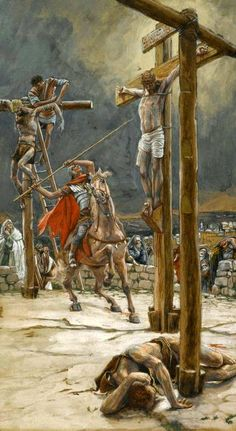 The Strike of the Lance, James Tissot