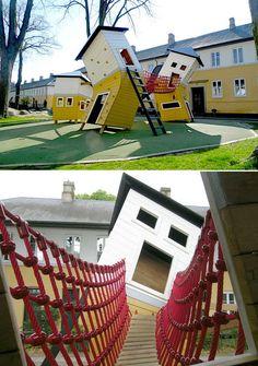 Brumleby Playground in Copenhagen