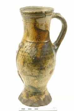 Baluster jug, mid 13th-mid 14th century | Museum of London