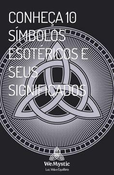 Os símbolos esotéricos possuem tradição milenar e são utilizados para atrair força, proteção e sorte. Conheça os significados de 10 destes poderosos símbolos. Occult Books, Magic Symbols, Norse Mythology, Book Of Shadows, Art Therapy, Sacred Geometry, Good Vibes, Feng Shui, Witchcraft