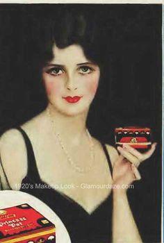 1929-Princess-Pat-makeup. Gallery – The Makeup Looks of the 1920′s.
