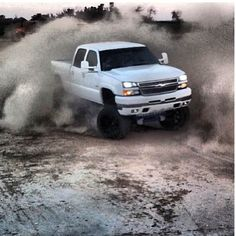 Wooa babe that's one hot truck;) hop n my truck lets go get this thing stuck;)