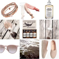 #summer #Inspiration for #travellers // #accessories in beautiful soft #colours // think: #beachwalks #driftwood #rosewine // #travel in #style  Follow Your Trolley. Das deutschsprachige Reiseblog für Flashpacking, stilvolles Reisen und Yoga.  www.follow-your-trolley.com