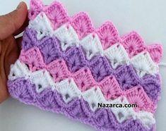 3 AYNI RENK İLE 2 FARKLI TIĞ ÖRGÜSÜ YAPMAK | Nazarca.com Baby Blanket Crochet, Crochet Yarn, Crochet Stitches Patterns, Stitch Patterns, Beautiful Patterns, Yarn Crafts, Wonderful Images, Crochet Projects, Artisan