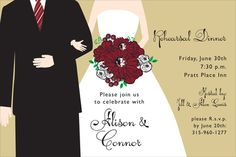 Florida State University Newlywed Invitations