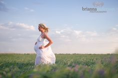 Beautiful Maternity Shot | Brianna Anderson Photography