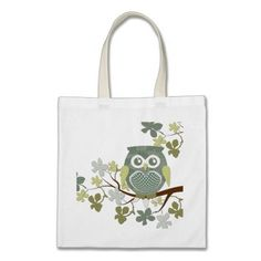 Polka Tree Owl Bag $10.95
