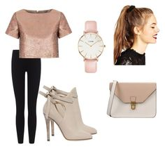"""""""Untitled #100"""" by iamvalerianl on Polyvore featuring James Perse, Glamorous, Jimmy Choo, CLUSE, ASOS and 8"""