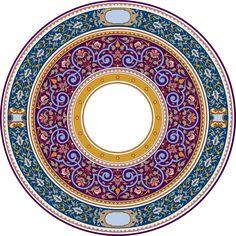 57-Arabesque (Islamic Art)