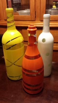 Spray paint bottles