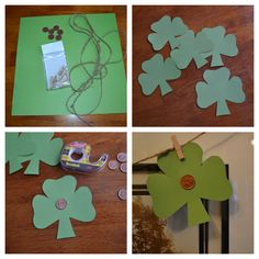 East Coast Mommy: St. Patrick's Day {Penny} Banner