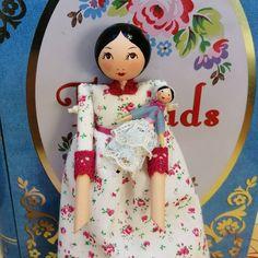 Tiny Dolls, Little Darlings, Attic, Art Dolls, Dutch, Vintage Inspired, Christmas Ornaments, Disney Princess, My Love