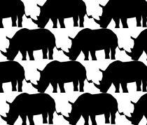 rhino fabric, wallpaper & home decor - Spoonflower Fabric Wallpaper, Wall Wallpaper, Planeta Animal, Elephant Food, Rhino Poaching, Rhino Art, Tag Alphabet, Save The Rhino, Textile Patterns