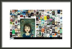 Dear God Framed Print By Holley Jacobs