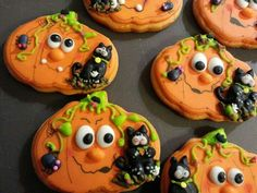 Halloween galletas decoradas Ana