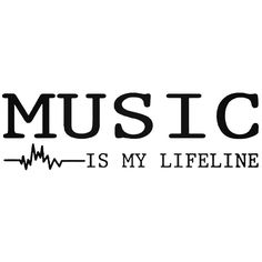 Musika sharing good music feel free to invite friends to the music is my lifeline vinyl decal sticker stopboris Images