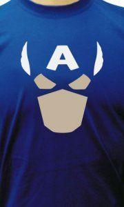 Camiseta Capitão América Face